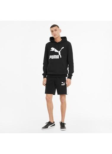 Puma Erkek Siyah Classics Logo Sweatshirt 530084.001 Siyah